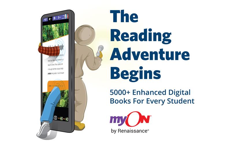 MyON reading adventure